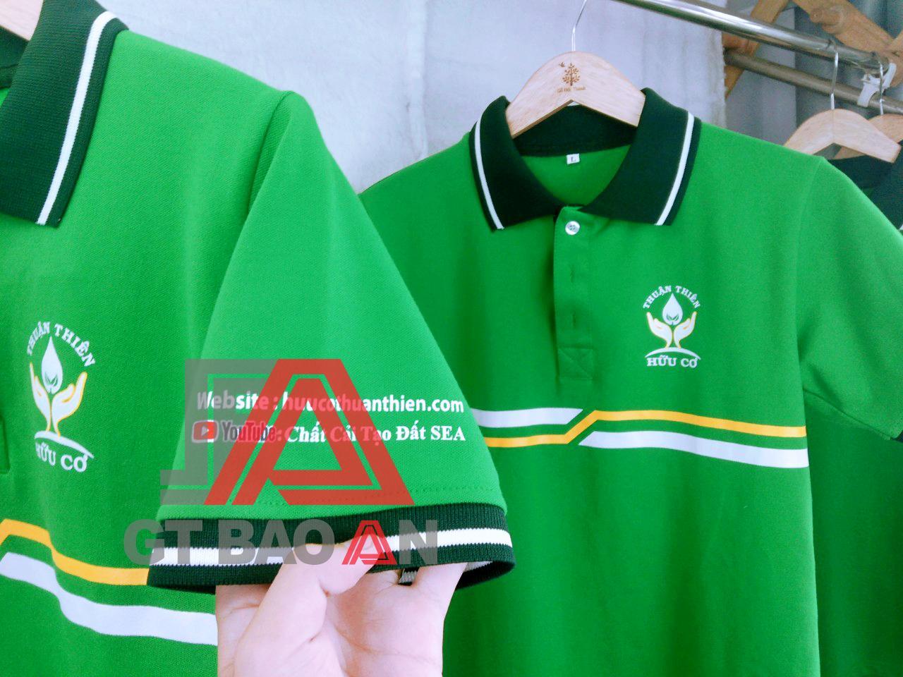 Áo thun quà tặng công ty phân bón Thuận Thiên