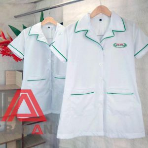 Áo blouse đồng phục công ty Nhất Long
