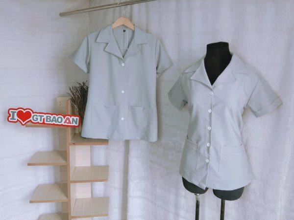 Đồng phục nhân viện tiệm nail, spa