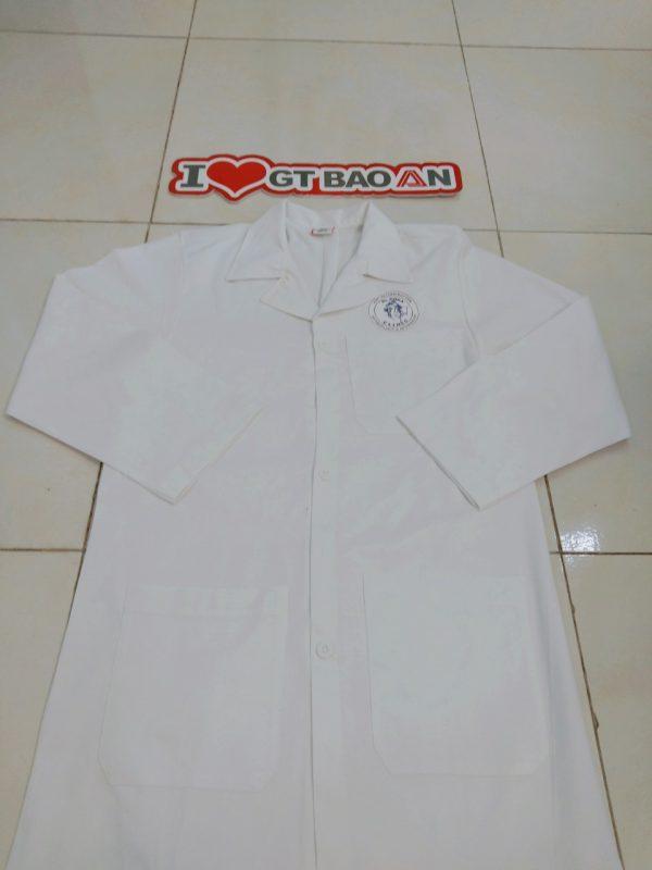 Áo blouse trắng tay dài dành cho nam