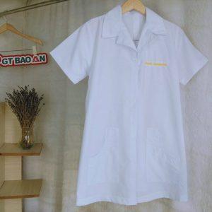 Đồng phục nhân viện tiệm nails, spa