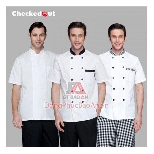May đồng phục áo bếp giá tại xưởng