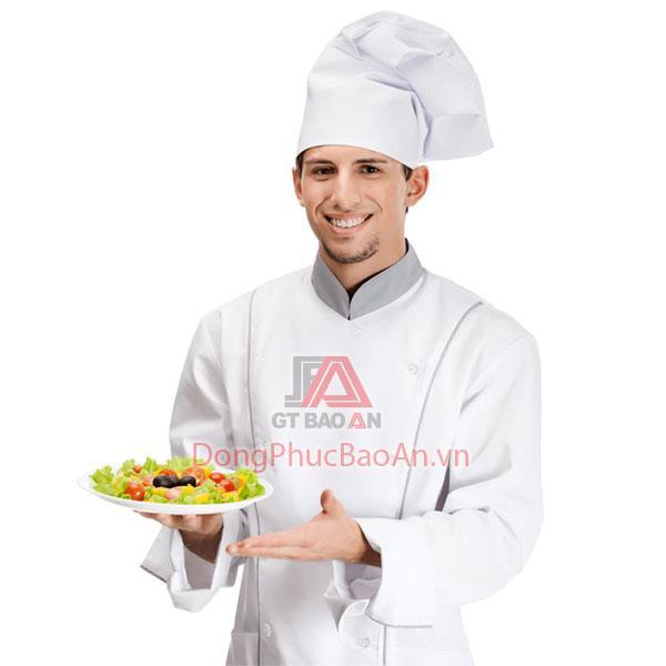 May đồng phục áo bếp nam đẹp
