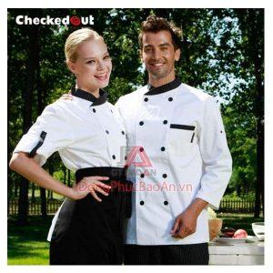 May đồng phục bếp các loại giá rẻ