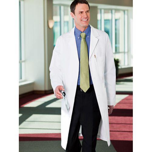 May áo blouse bác sĩ nam theo tiêu chuẩn bộ y tế