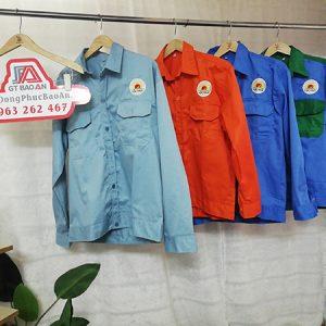 đặt may quần áo bảo hộ lao động công ty lộc trời 01