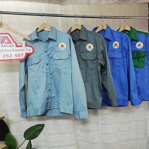 đặt may quần áo bảo hộ lao động công ty lộc trời 02
