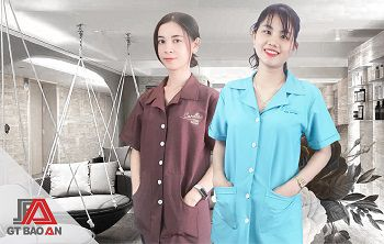 may đồng phục spa banner