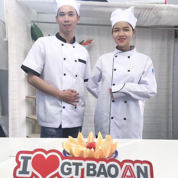 Mua bán áo bếp trưởng may sẵn giá rẻ tại tphcm 01