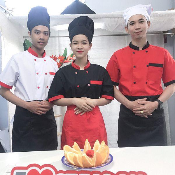 Mua bán áo bếp trưởng may sẵn giá rẻ tại tphcm 04
