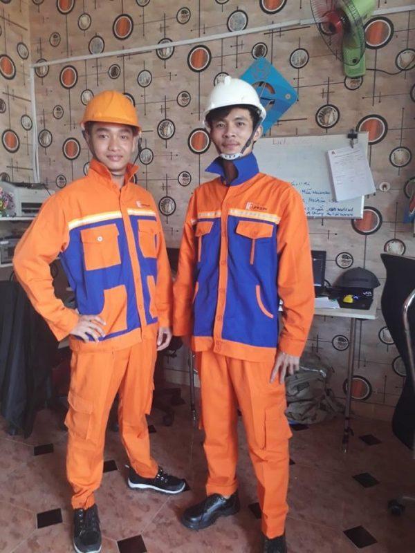 Quần áo bảo hộ lao động giá rẻ tại Quận Bình Tân