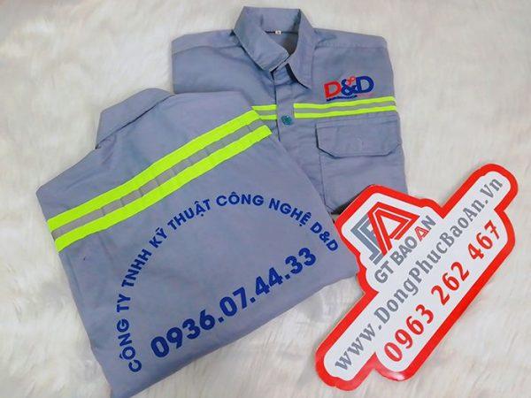 áo bảo hộ phản quang cao cấp
