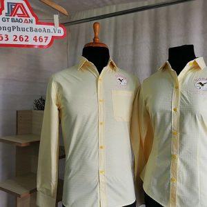 Mẫu áo sơ mi nam nữ công sở đẹp Nitrasa
