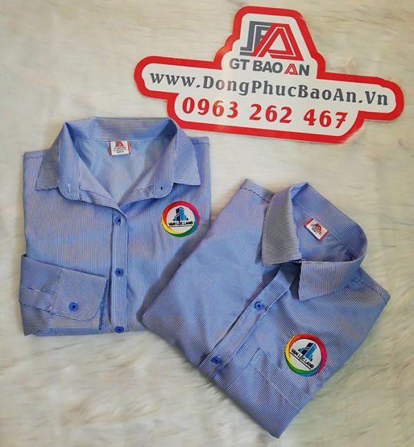 May áo sơ mi đồng phục công ty Vạn Lộc Land