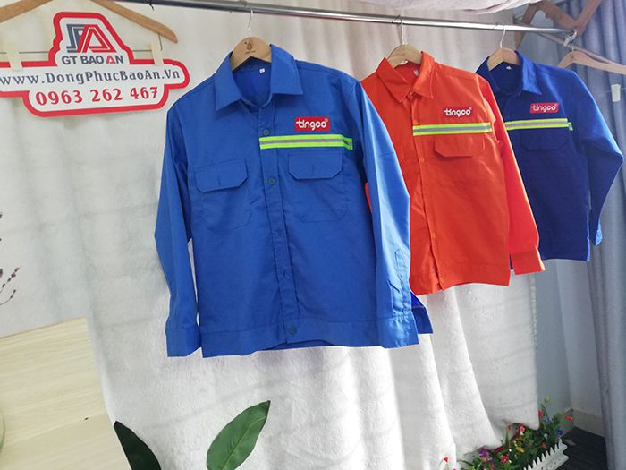 Quần áo bảo hộ lao động cao cấp công ty Tingco