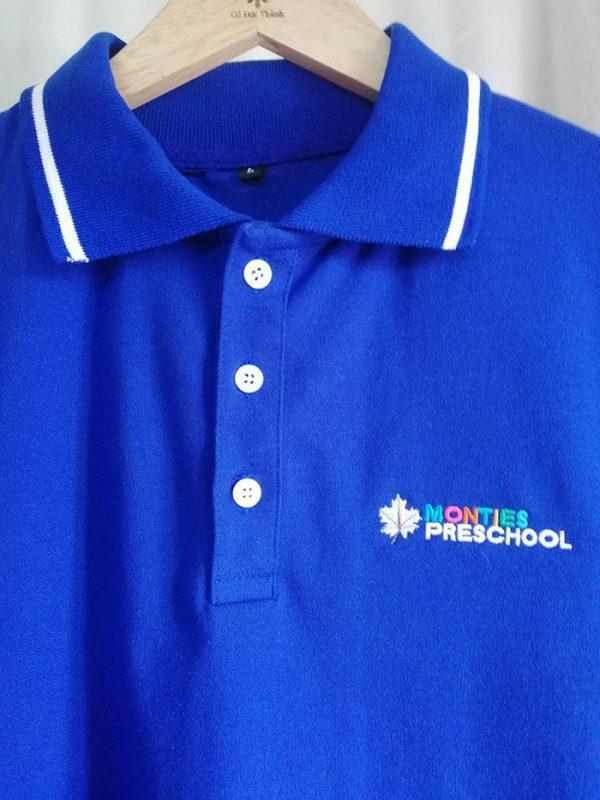 Áo Thun Đồng Phục Trường Mầm Non Monties Preschool 04