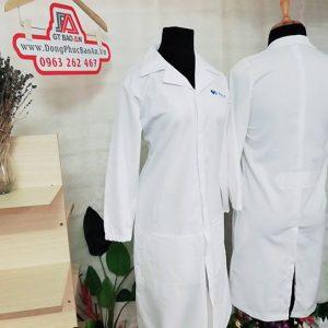 Kiểu áo blouse nữ điều dưỡng tay dài điệu đà, xinh lung linh 05