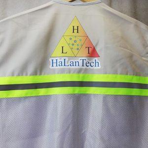 May Áo Gile Lưới Phản Quang HaLanTech 06