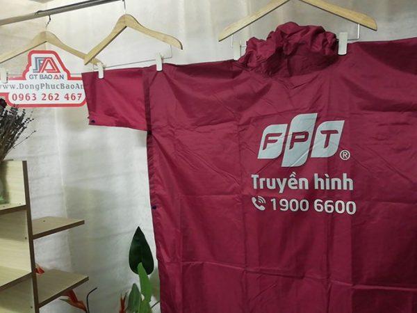 May Áo Mưa Quà Tặng Công Ty FPT 04