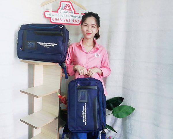 May Balo Cặp Sách Đa Năng 2 in 1 Trường Đại Học Sài Gòn 05