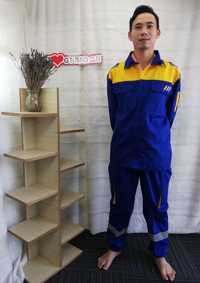 Quần áo công nhân bảo hộ chất lượng tập đoàn Thép 01
