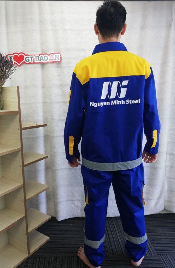 Quần áo công nhân bảo hộ chất lượng tập đoàn Thép 02