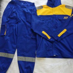Quần áo công nhân bảo hộ chất lượng tập đoàn Thép 03