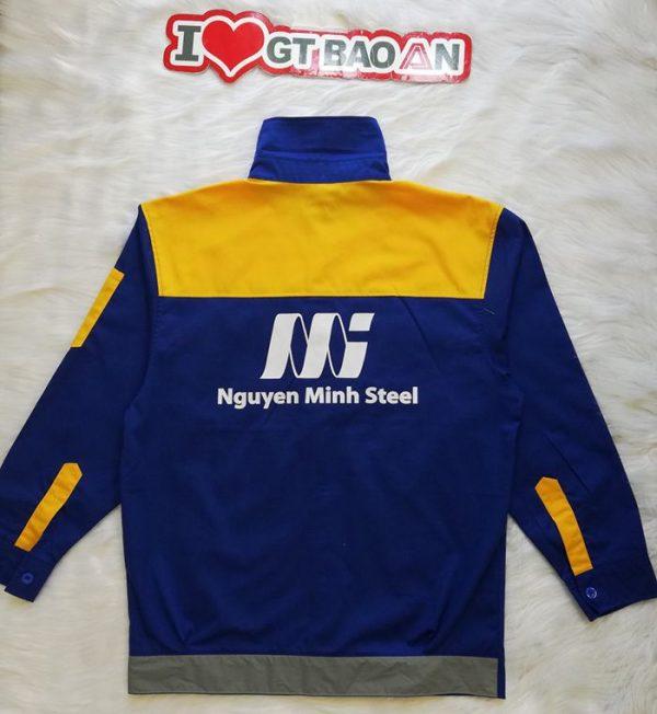 Quần áo công nhân bảo hộ chất lượng tập đoàn Thép 05