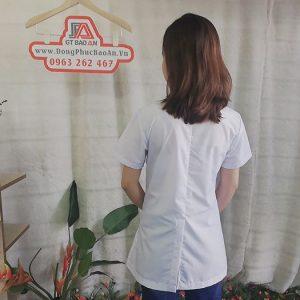 Áo Blouse Trắng Nhà Thuốc Chất Vải Cao Cấp - Sunny Maxx 06