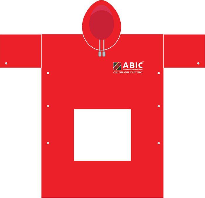 Áo Mưa Cánh Dơi Mẫu Số 1 - Bảo Hiểm Ngân Hàng ABIC 02