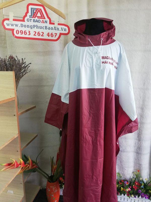 Áo mưa cao cấp – Công ty may áo mưa hàng quà tặng MACA 01