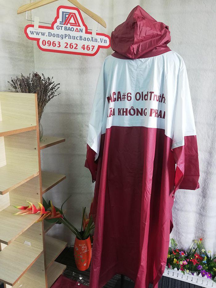 Áo mưa cao cấp – Công ty may áo mưa hàng quà tặng MACA 02