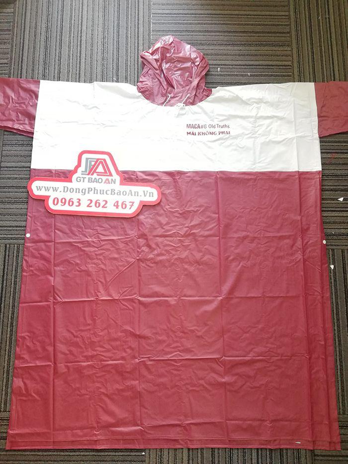 Áo mưa cao cấp – Công ty may áo mưa hàng quà tặng MACA 04