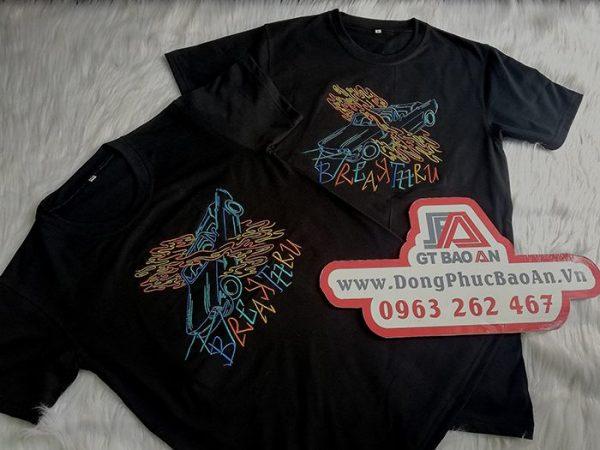 Áo thun đồng phục– áo thun cổ tròn đồng phục giá rẻ 04