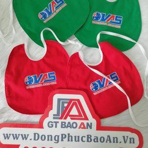 Áo Thun Đồng Phục Trường Mầm Non - Yếm Ăn Dặm Cho Bé - VAS 02