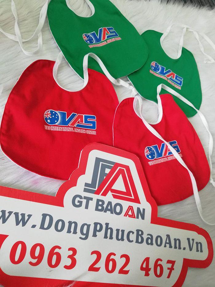 Áo Thun Đồng Phục Trường Mầm Non - Yếm Ăn Dặm Cho Bé - VAS 05