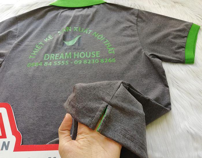 Công Ty May Áo Thun Đồng Phục Giá Rẻ - Dream House 02