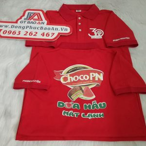 Đặt may áo thun cá sấu đồng phục công ty Phạm Nguyên – ChocoPN 01