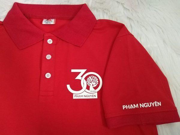 Đặt may áo thun cá sấu đồng phục công ty Phạm Nguyên – ChocoPN 03