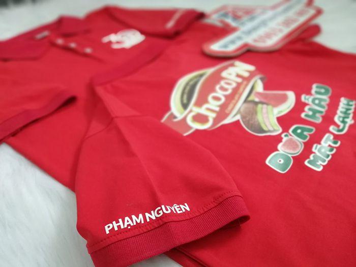 Đặt may áo thun cá sấu đồng phục công ty Phạm Nguyên – ChocoPN 05
