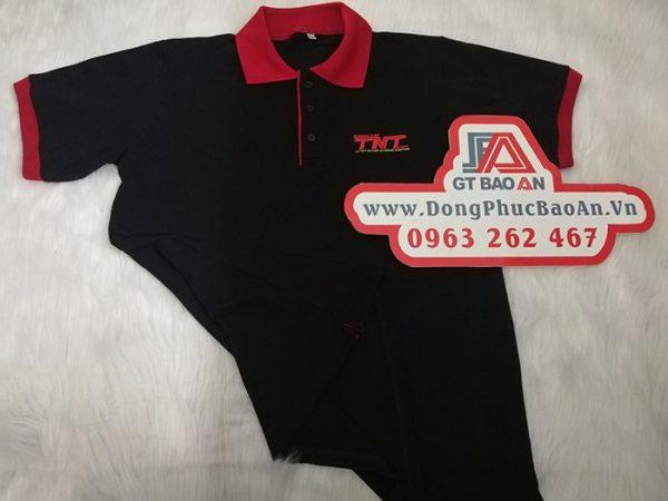 Làm áo thun đồng phục công ty quảng cáo Led TNT 01