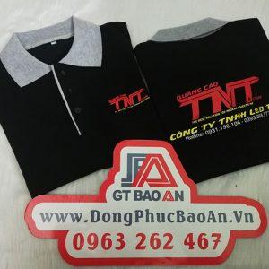 Làm áo thun đồng phục công ty quảng cáo Led TNT 03