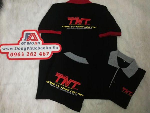 Làm áo thun đồng phục công ty quảng cáo Led TNT 05