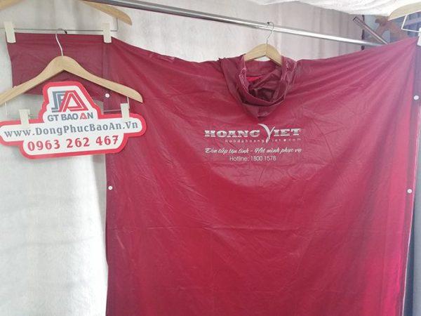 Mẫu Áo Mưa Cánh Dơi Quà Tặng Của Honda Hoàng Việt 03