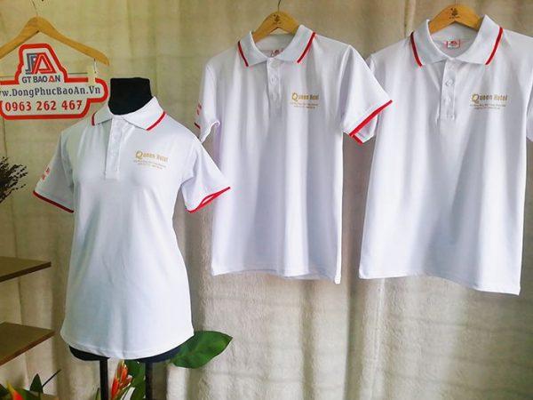 Mẫu áo thun đồng phục khách sạn 2 sao Queen Hotel 02