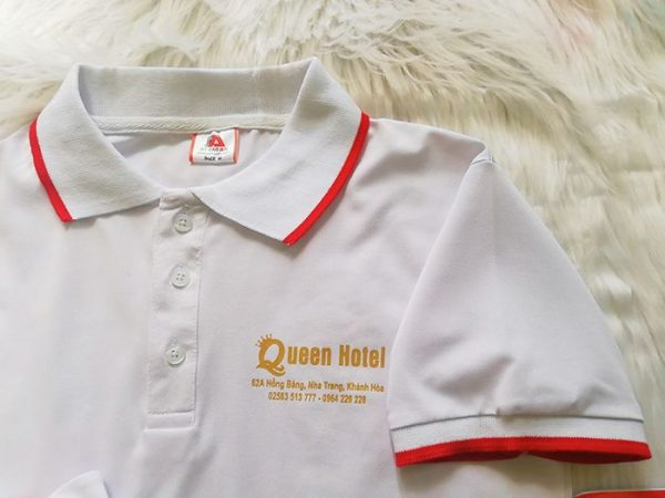 Mẫu áo thun đồng phục khách sạn 2 sao Queen Hotel 03