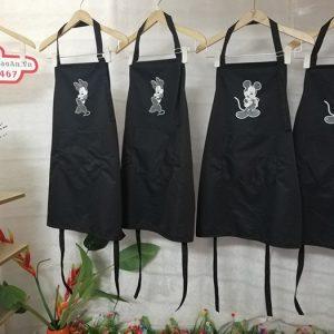 Mẫu tạp dề dù chống thấm cho pha chế quán cafe - nhà hàng 01