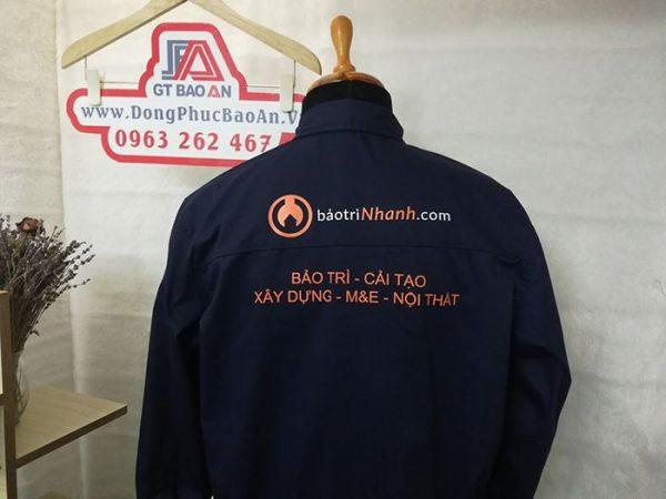 May áo bảo hộ công nhân xây dựng và nội thất cao cấp 01