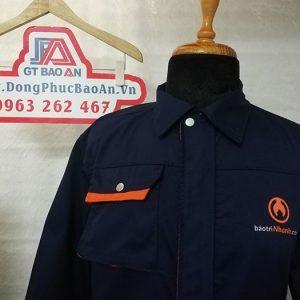 May áo bảo hộ công nhân xây dựng và nội thất cao cấp 03