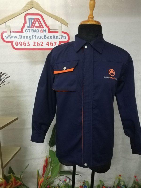 May áo bảo hộ công nhân xây dựng và nội thất cao cấp 04